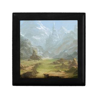 Boîte À Souvenirs Montagnes et neige