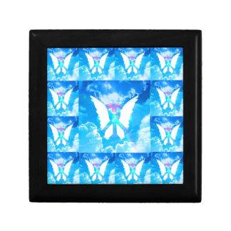 Boîte À Souvenirs Motif de paix d'aile d'ange