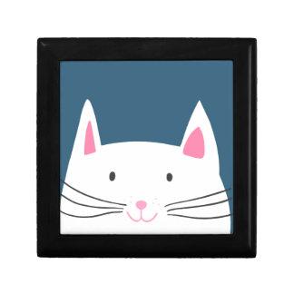 Boîte À Souvenirs Motif de tête de chat