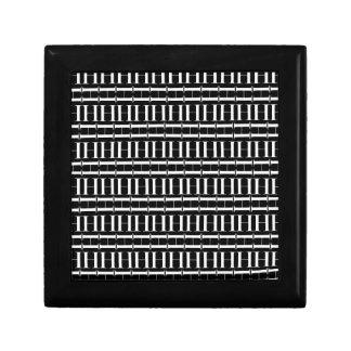Boîte À Souvenirs Motif d'initiale de monogramme, lettre H dans le