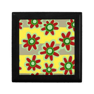 Boîte À Souvenirs motif floral