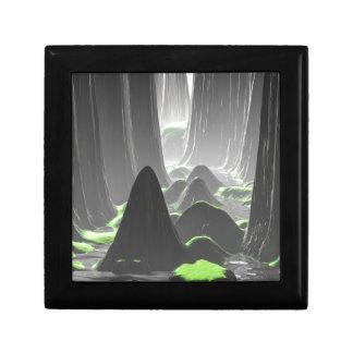 Boîte À Souvenirs Murs de canyon brumeux
