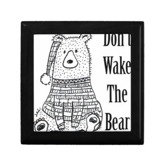 Boîte À Souvenirs Ne réveillez pas l'ours