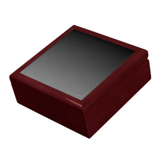 Boîte À Souvenirs Noir pour étamer le modèle de gradient