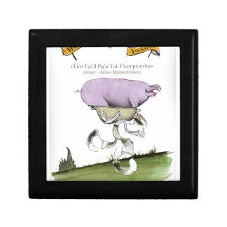 Boîte À Souvenirs nous aimons la course de porc d'up'ill de
