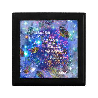Boîte À Souvenirs Nous trouverons la paix et entendrons les anges