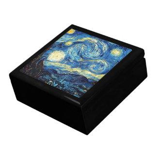 Boîte À Souvenirs Nuit étoilée de la peinture célèbre de Van Gogh
