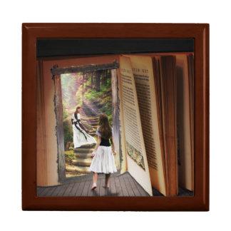 Boîte À Souvenirs Obtention perdue dans l'imagination tandis que