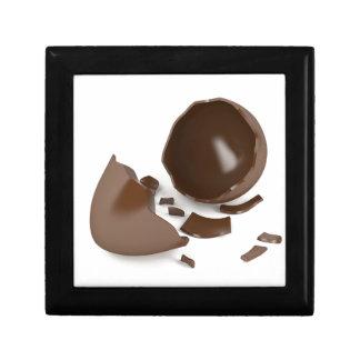 Boîte À Souvenirs Oeuf de chocolat cassé