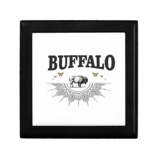 Boîte À Souvenirs ombre de taureau de bison