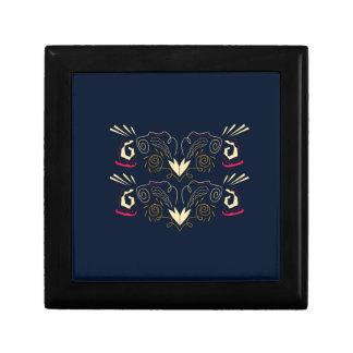 Boîte À Souvenirs Ornements peints à la main de luxe