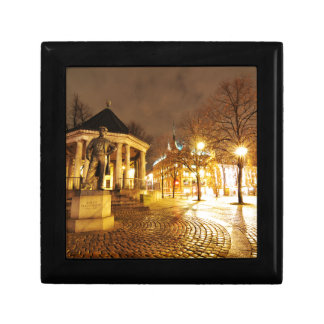 Boîte À Souvenirs Oslo, Norvège la nuit