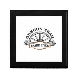 Boîte À Souvenirs OT la rivière Snake