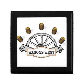 Boîte À Souvenirs ot occidental de chariots