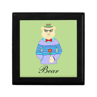 Boîte À Souvenirs ours de geek