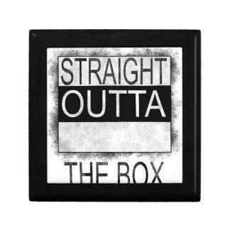 Boîte À Souvenirs Outta droit la boîte