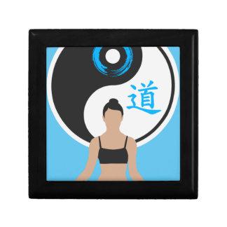 Boîte À Souvenirs Paix de yoga de Yin Yang
