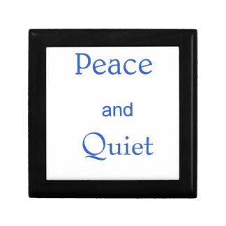 Boîte À Souvenirs paix et tranquillité