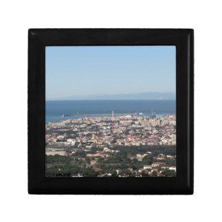 Boîte À Souvenirs Panorama aérien de ville Toscane Italie de
