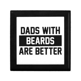 Boîte À Souvenirs Papas avec des barbes