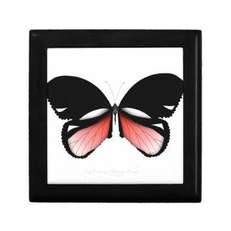 Boîte À Souvenirs papillon de rouge de la figue 5 par les fernandes