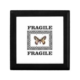 Boîte À Souvenirs papillon fragile