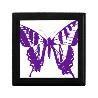 Boîte À Souvenirs Papillon pourpre