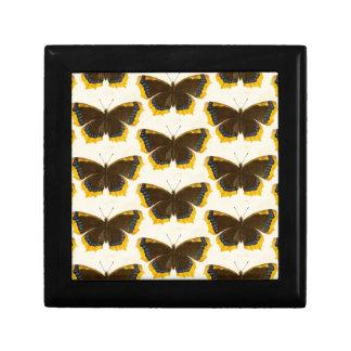 Boîte À Souvenirs Papillons jaunes