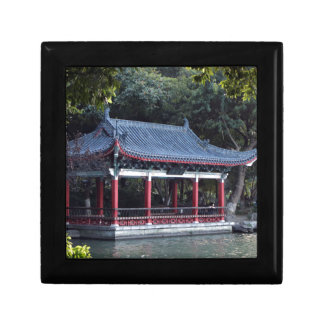 Boîte À Souvenirs Pavillon, lac Ronghu, Guilin, Chine