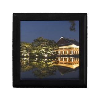 Boîte À Souvenirs Paysage asiatique et palais