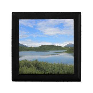Boîte À Souvenirs Paysage de l'Alaska