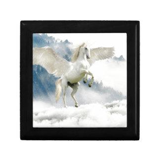 Boîte À Souvenirs Pegasus à cornes