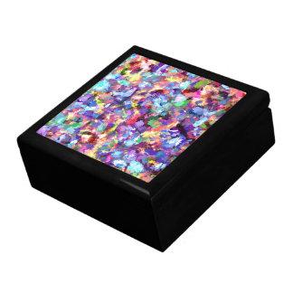 Boîte À Souvenirs Peinture avec la couleur
