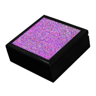 Boîte À Souvenirs Peinture multicolore de mode de parties