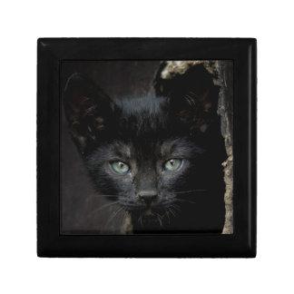 Boîte À Souvenirs Petit Kitty noir