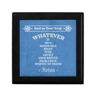 Boîte À Souvenirs Philippiens 4 8 (bleu)