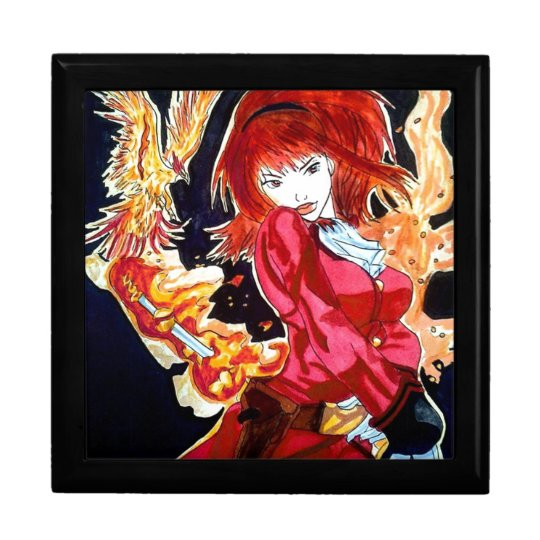Boîte À Souvenirs Phoenix Child