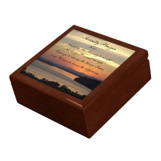 Boîte À Souvenirs Photo de coucher du soleil de paysage marin de