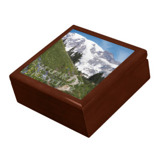 Boîte À Souvenirs Photo de parc national de mont Rainier