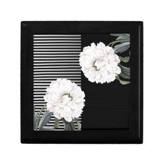 Boîte À Souvenirs piano blanc de pivoine