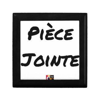 Boîte À Souvenirs PIÈCE JOINTE - Jeux de mots - Francois Ville