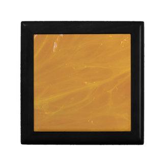 Boîte À Souvenirs pierre en cristal jaune