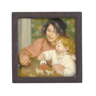 Boîte À Souvenirs Pierre un enfant de Renoir   avec des jouets