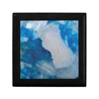Boîte À Souvenirs pierres bleues de fantaisie