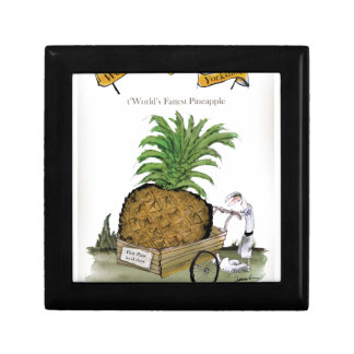Boîte À Souvenirs Pineapple du monde de Yorkshire d'amour le 'plus