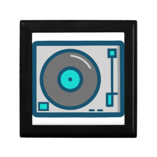 Boîte À Souvenirs Plaque tournante du DJ