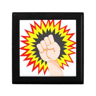 Boîte À Souvenirs Poinçon d'énergie de puissance de bras de force de