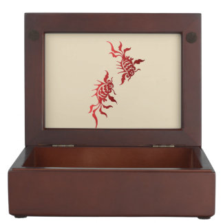 Boîte À Souvenirs Poisson rouge