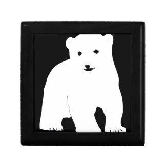 Boîte À Souvenirs PolarBearCubBlackSF