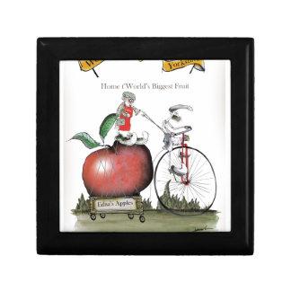 Boîte À Souvenirs Pommes de Yorkshire d'amour grandes
